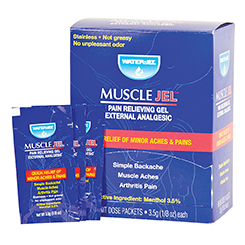 MUSCLE JEL, 3.5G, 96 PER BOX