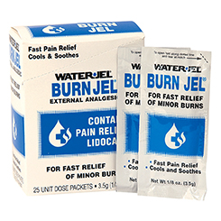 Water-Jel Burn Jel packets