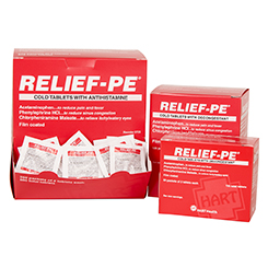 RELIEF-PE cold and flu medication