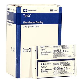 Telfa Pads Non Adhesive Non Stick Wound Pad 100 Per Box