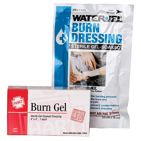 "Burn Gel Dressing, 4"" X 4"" 1/unit"