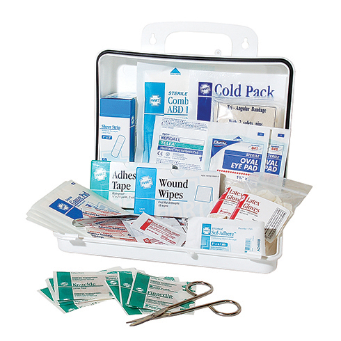 #25 Bulk First Aid Kit, OSHA, HART, poly