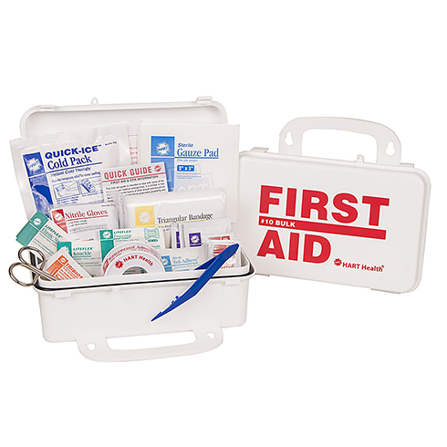 #10 Bulk First Aid Kit, OSHA, HART, poly