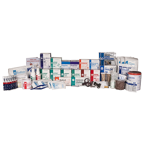 First Aid Station Refill, ANSI Class B, HART, 4 or 5 shelf, No Meds