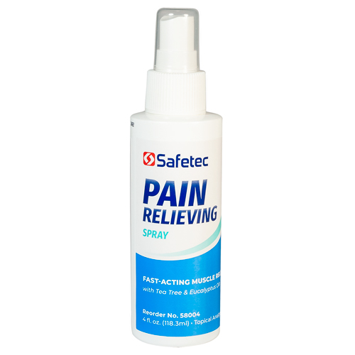 Pain Relieving Spray, muscle pain relief, 4 oz spray
