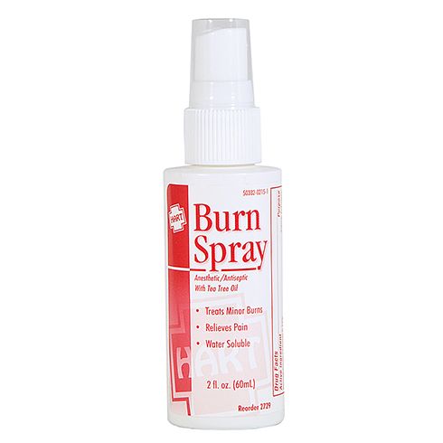 Burn Spray, HART, with Tea Tree Oil, 2 oz pump