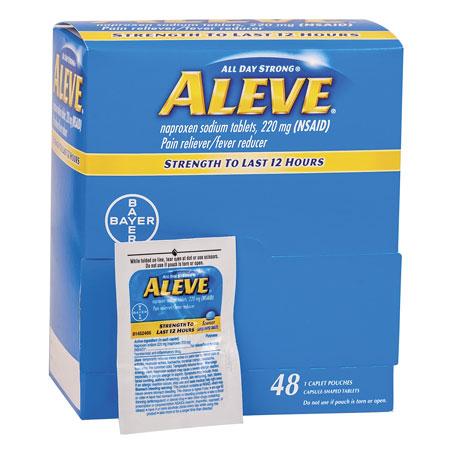 ALEVE CAPLETS, 48/1'S