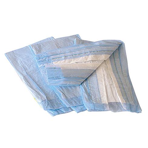 Underpads, Disposable, Blue, 17' x24', 300/box