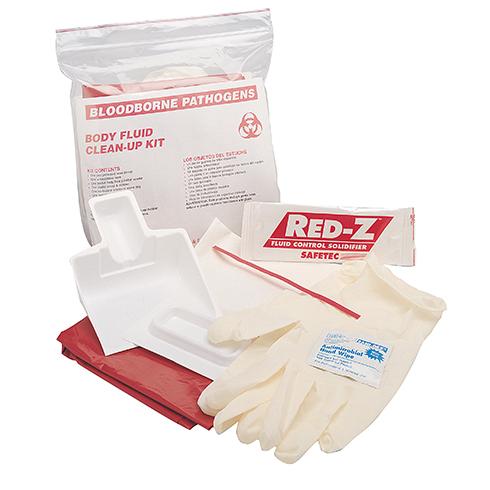 Body Fluid Clean-up Kit,  zip bag