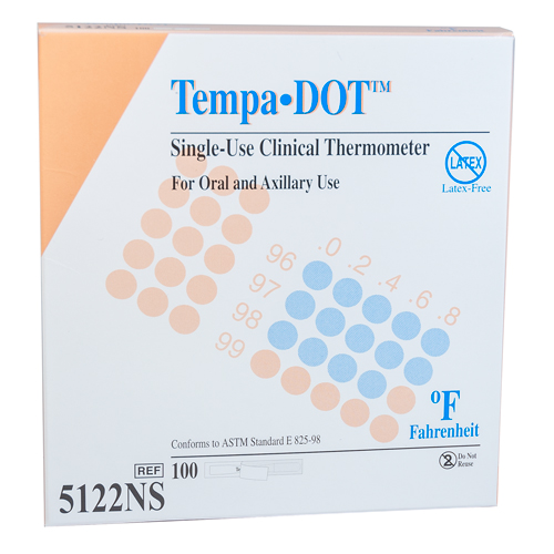Tempa-DOT Thermometers, 100/pack