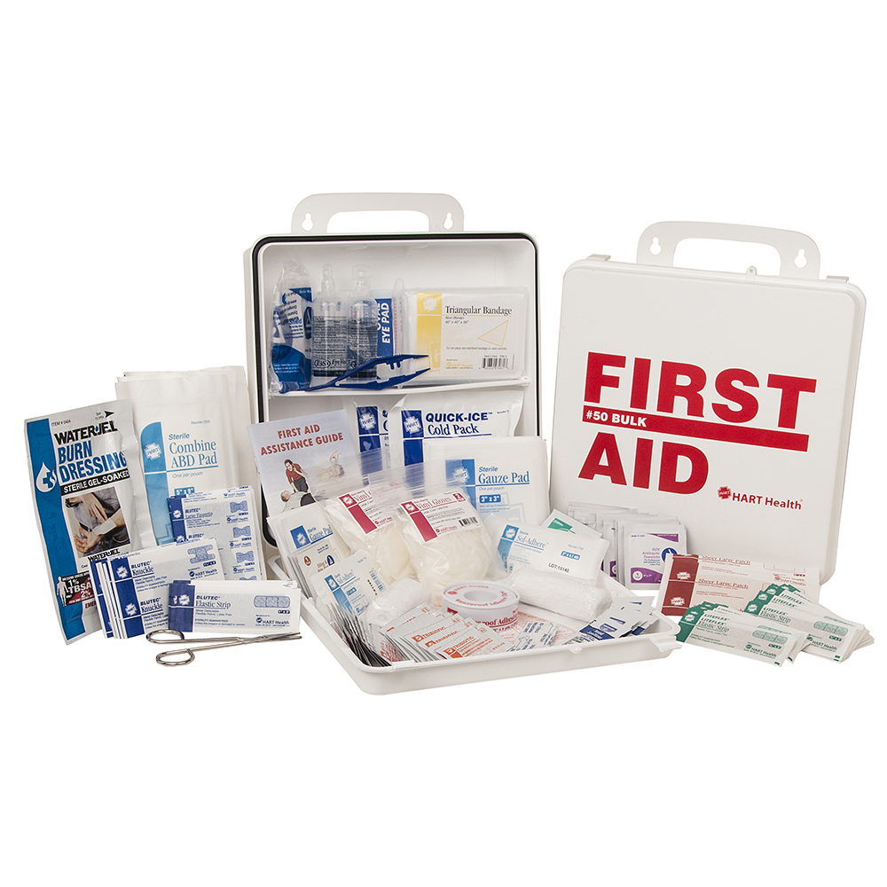 50 Bulk First Aid Kit, ANSI Class A, HART, Food Services